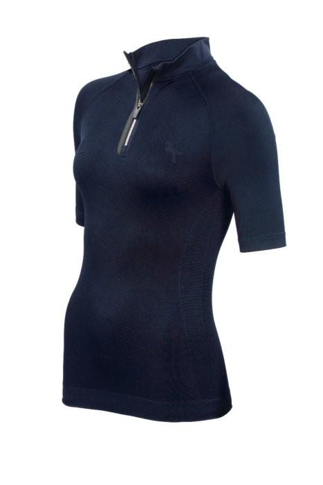 ea.St Trainingsshirt Seamless Shortsleeve blau