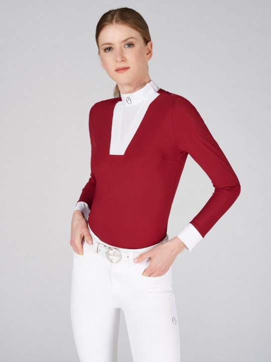 Vestrum Damen Langarm Turniershirt Salen Rot