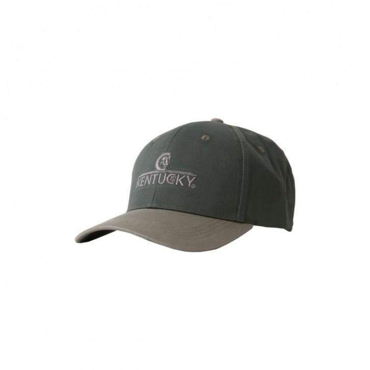 Kentucky Basball Cap Embroidered dunkelgrün