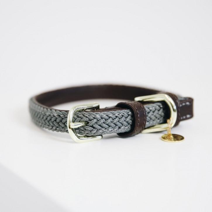 Kentucky Hundehalsband Nylon grau