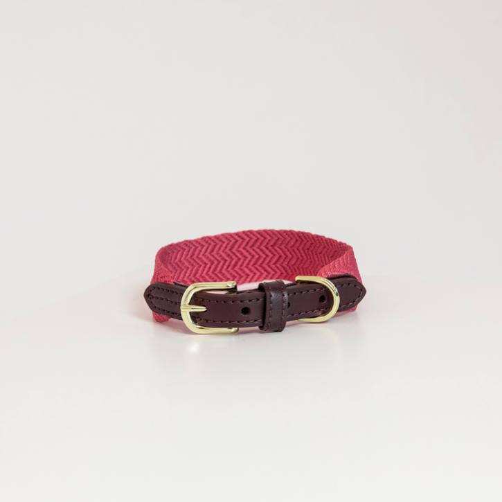 Kentucky Hundehalsband Jacquard pink