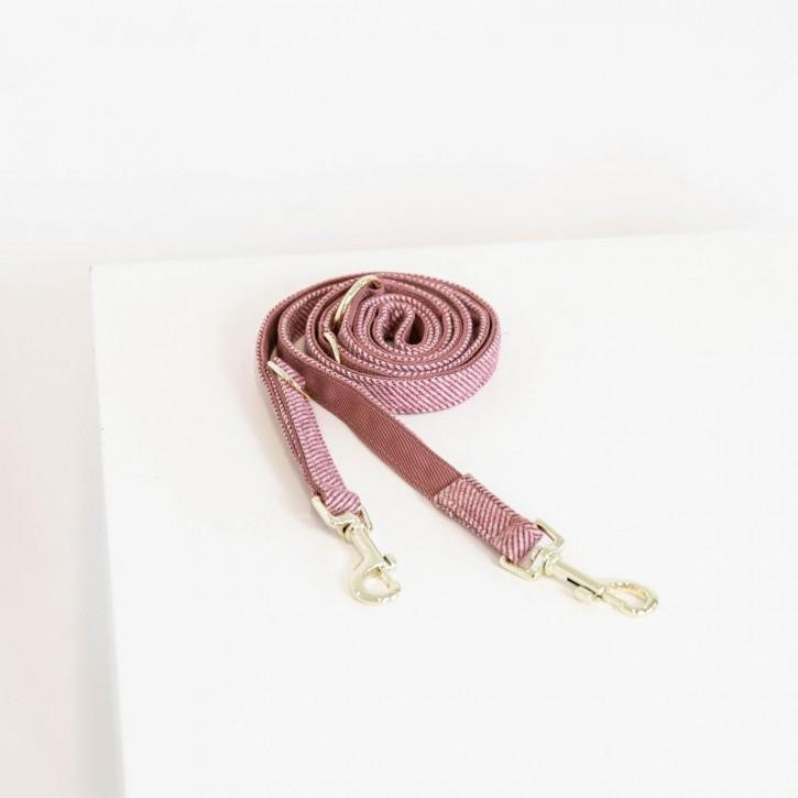 Kentucky Hundeleine Wool rosa 200cm