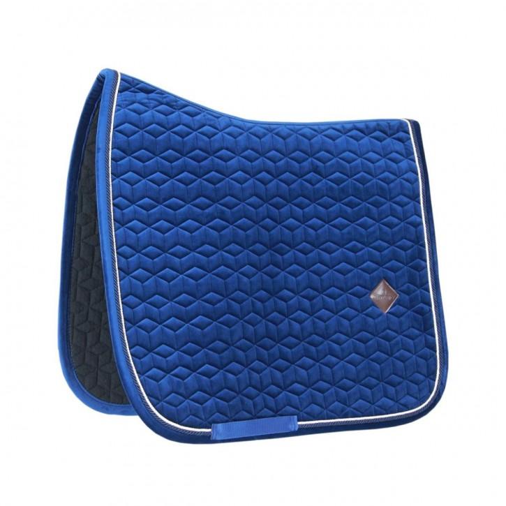 Kentucky Schabracke VELVET Basic Dressur Blau