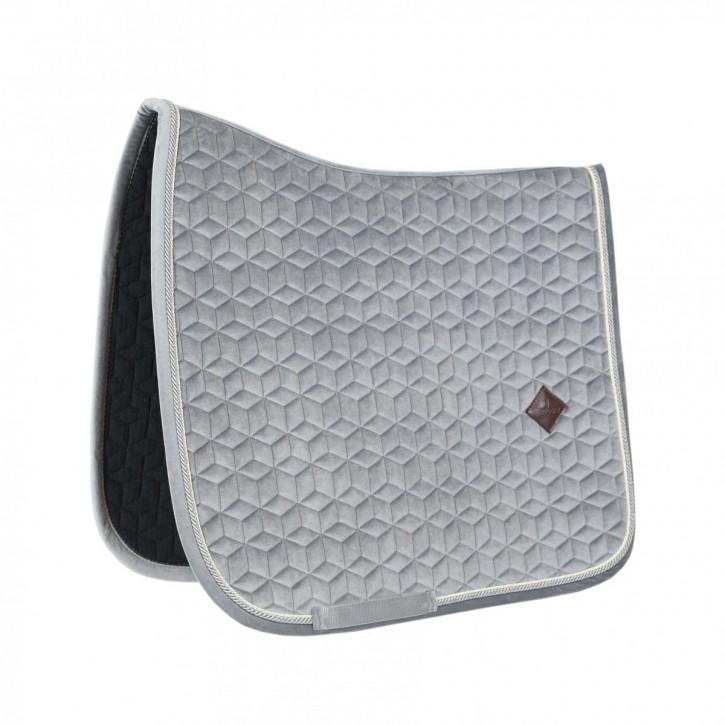 Kentucky Schabracke VELVET Basic Dressur Grau