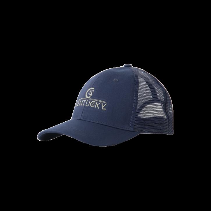 Kentucky Trucker Cap Embroidered blau