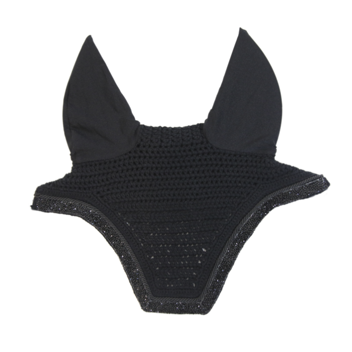 Kentucky Fliegenmütze Glitter Stone Soundless Full schwarz
