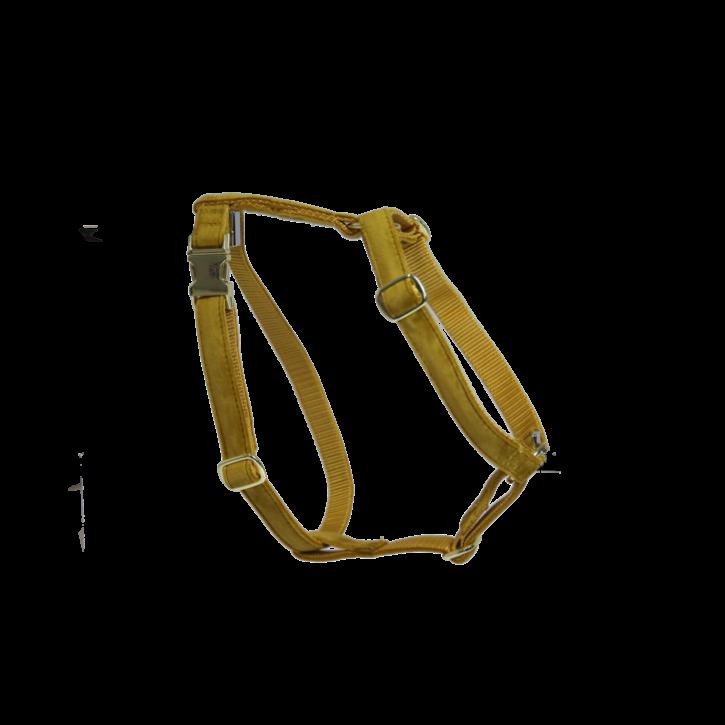 Kentucky Hundegeschirr Loop Velvet senfgelb