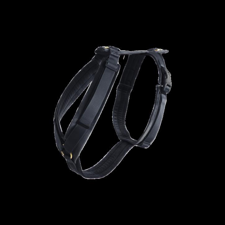 Kentucky Hundegeschirr Velvet Aktiv schwarz
