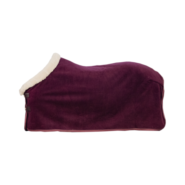 Kentucky Abschwitzdecke Heavy Fleece Show bordeaux