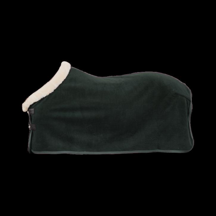 Kentucky Abschwitzdecke Heavy Fleece Show dunkelgrün