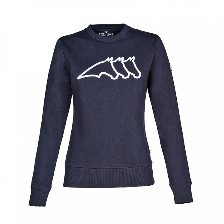 Equiline Damen Pullover Carlac Navy