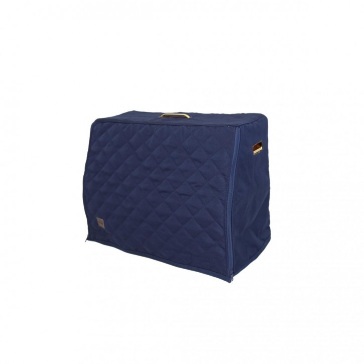 Kentucky Grooming Deluxe Show Grooming Box Cover navy