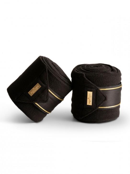 Equestrian Stockholm Bandagen Black Gold Full