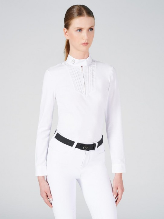 Vestrum Damen Langarm Turniershirt Ratisbona weiß