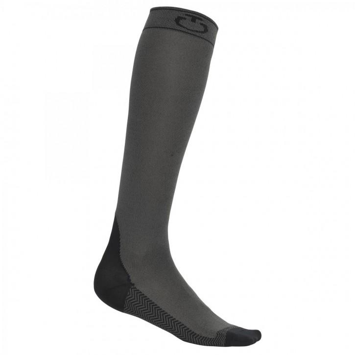 Cavalleria Toscana Socken grau-schwarz