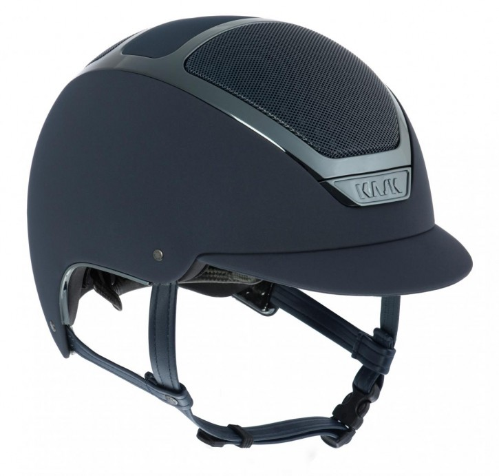 KASK Reithelm Dogma Chrome Light m. Inlay Navy