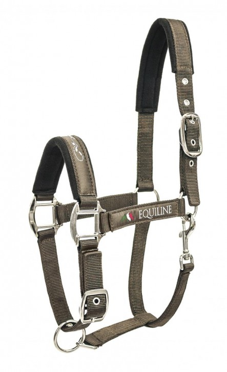 Equiline Nylonhalfter Timmy cappuccino