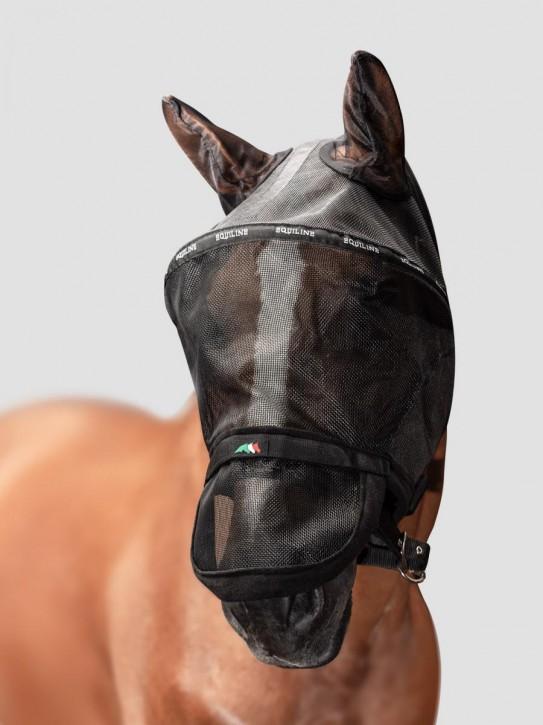Equiline Fliegenmaske Benson schwarz