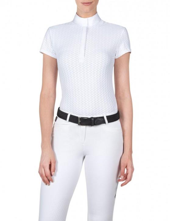 Equiline Damen Turnierpoloshirt Amberk weiß