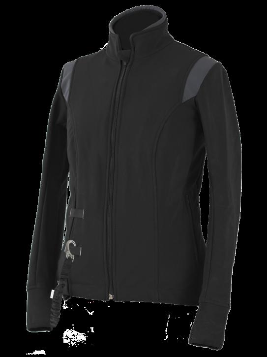 Helite Zip In Airshell Jacke schwarz grau