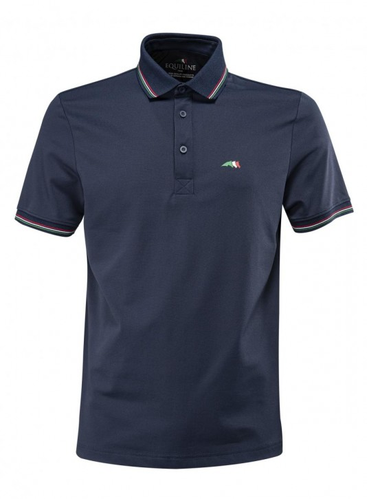 Equiline Team Herren Polo - Shirt navy