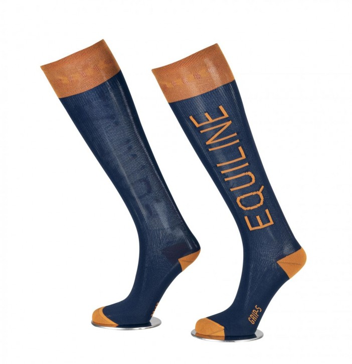 Equiline Socken Cassidy navy-orange