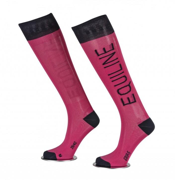 Equiline Socken Cassidy pink-navy
