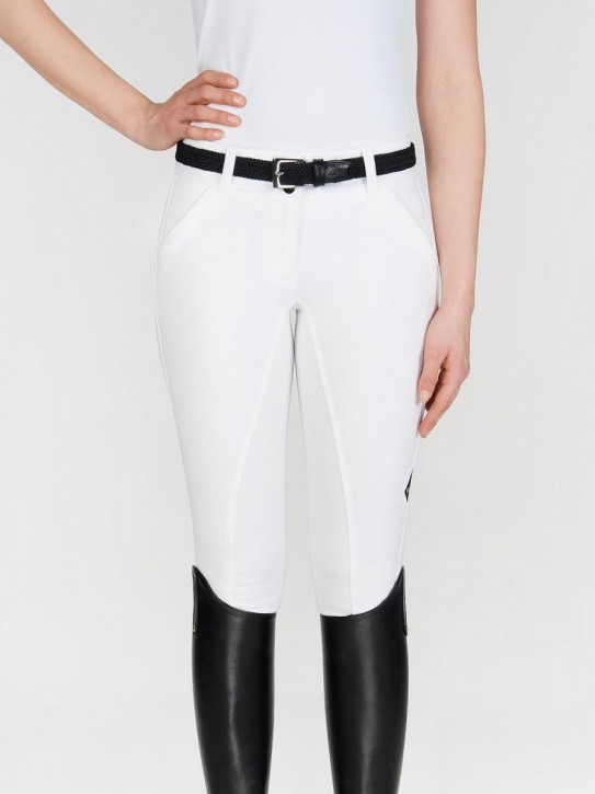Equiline Vollgrip Reithose Damen X-Shape Weiß