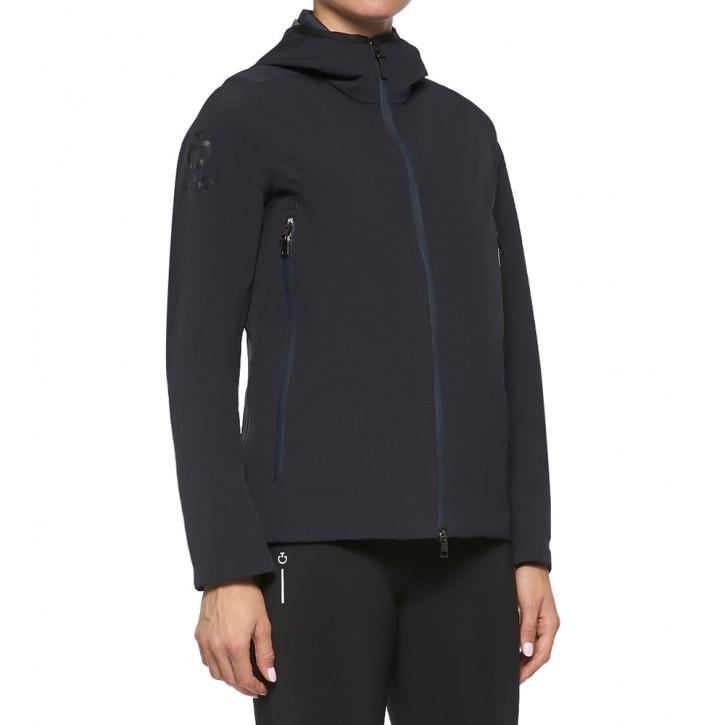 Cavalleria Toscana Damen Softshell Regenjacke mit herausnehmbarer Weste Navy
