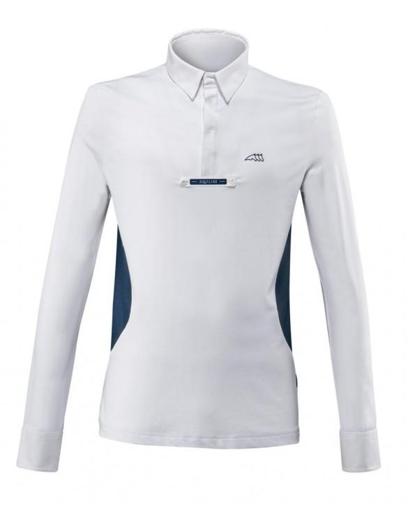 Equiline Herrenturniershirt CITRUSC weiß