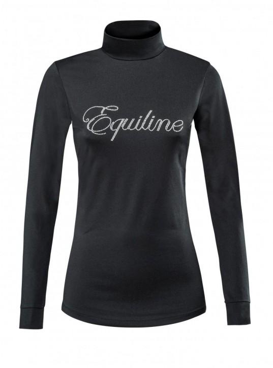 Equiline Damen Trainingsshirt schwarz