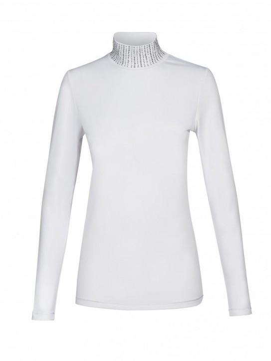 Equiline Damen Turniershirt Gila langarm weiß