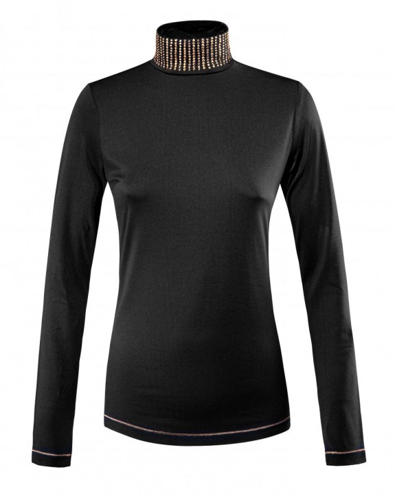 Equiline Damen Trainingsshirt Gila langarm schwarz