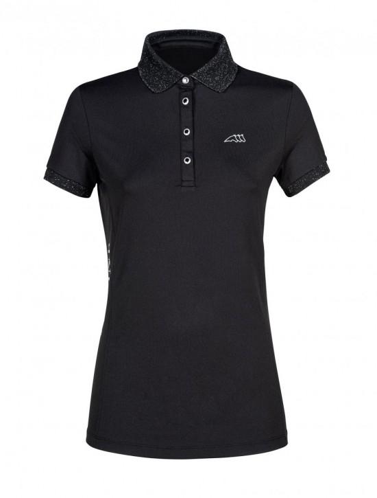 Equiline Damen Poloshirt Gloryg schwarz