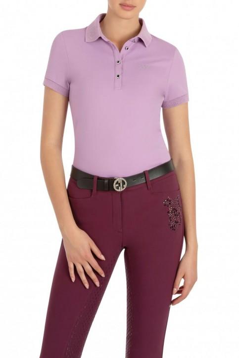 Equiline Damen Poloshirt Gloryg lila