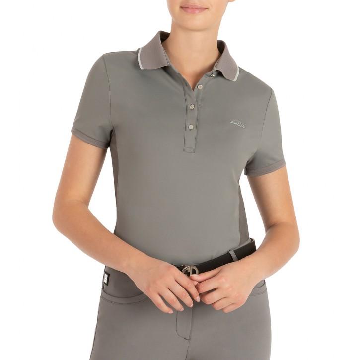 Equiline Damen Poloshirt Ellae Grau