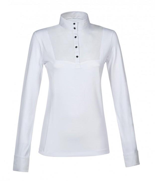 Equiline Damen Turniershirt Emileye Weiß