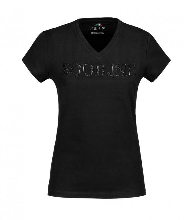 Equiline Damen T-Shirt Genesisg Schwarz