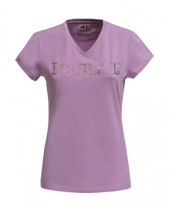 Equiline Damen T-Shirt Genesisg Lila