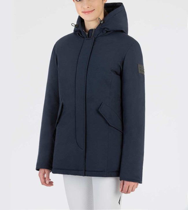 Equiline Damen Winter Jacke Catec Navy