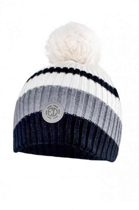 Equiline Mütze Knitted ELIOSE blau