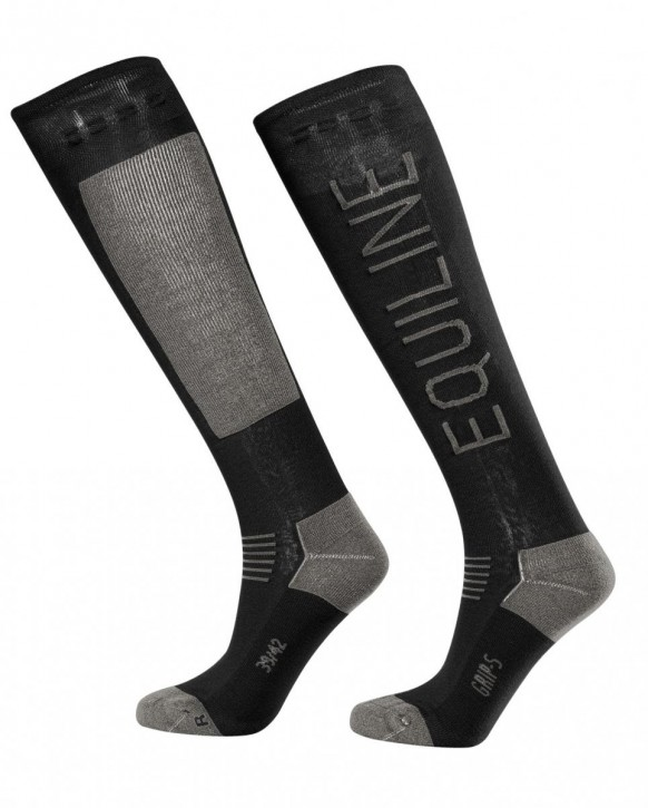 Equiline Socken CIRIEC schwarz