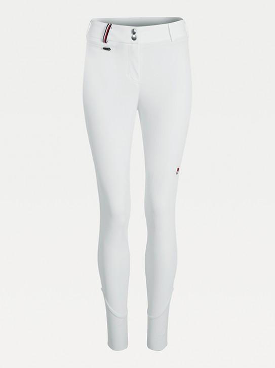 Tommy Hilfiger Equestrian Damen Knee Grip Reithose Style Weiss