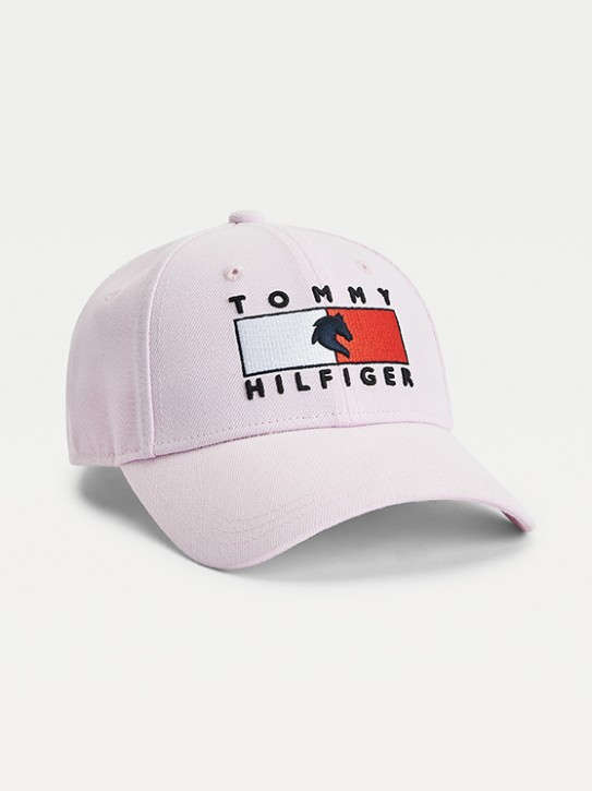Tommy Hilfiger Equestrian Cap Hellrosa- Light Pink