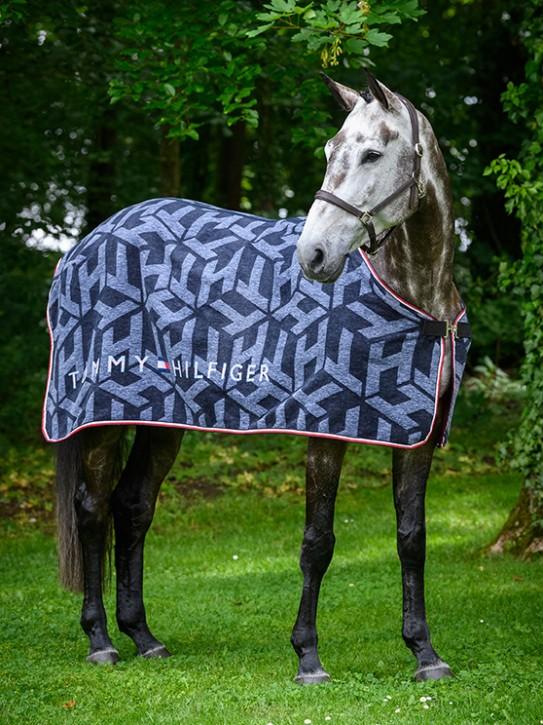 Tommy Hilfiger Equestrian Dralon Monogram Cooler Abschwitzdecke