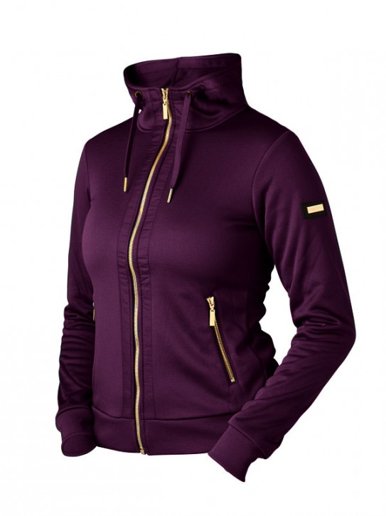 Equestrian Stockholm Sweatjacke Purple Gold Gr. S