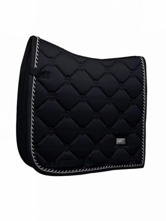 Equestrian Stockholm Dressur Schabracke Black Edition Full