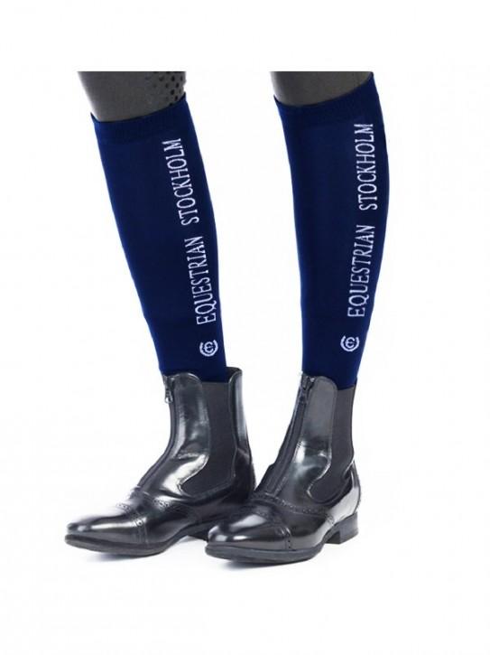 Equestrian Stockholm Socken Midnight Blue