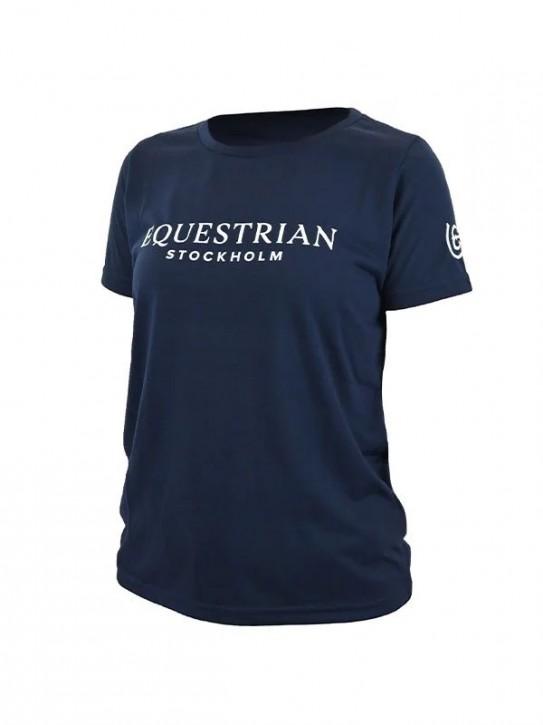 Equestrian Stockholm T-Shirt Navy White