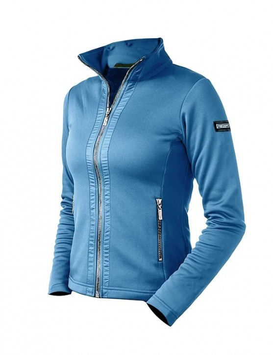 Equestrian Stockholm Damen Fleece Jacke Parisian Blue